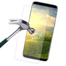 Spesifikasi 9 H Hardness Hd Pelindung Layar Anti Gores Cakupan Penuh 3 D Melengkung Edge Sensitivitas Tinggi Awal Perlawanan Debu Bukti Layar Film Untuk Samsung Galaxy S8 Galaxy S8 Bening Paling Bagus