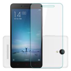 Harga 9 H Premium Pelindung Layar Anti Gores Untuk Xiaomi Redmi Note 2 Clear Fullset Murah