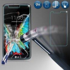 Review 9H Premium Tempered Real Glass Screen Protector Film For Lg K10 2017 Intl Oem
