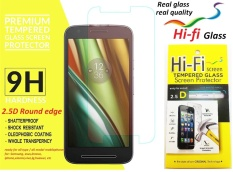9H+ SCREEN GUARD PROTECTOR ANTI GORES TEMPERED TEMPER GLASS KACA PELINDUNG LAYAR 2.5D ROUND CLEAR TRANSPARANT HTC M7 ONE M7 HIFI 904304
