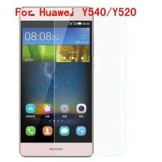 9 H Tempered Steel dengan Jelas Glass Ultra Tipis HD Anti Gores Layar Film Pelindung untuk Huawei Y540/ Y520-Intl