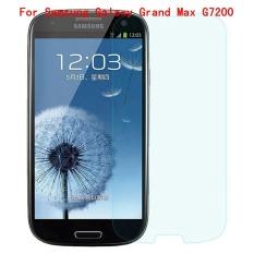 9 H Tempered Steel dengan Jelas Glass Ultra Tipis HD Anti Gores Layar Film Pelindung untuk Samsung GALAXY Grand Max G7200-Intl