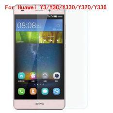 9 H Tempered Steel Glass Ultra Tipis HD Anti Gores Layar Film Pelindung untuk Huawei Y3/Y3C /Y330/Y320/Y336-Intl