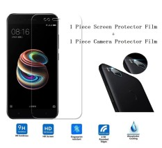 Beli 9H Ultra Thin Tempered Glass Front Display Screen And Back Phone Camera Lens Protector Films For Xiaomi Mi A1 5X Intl Baru