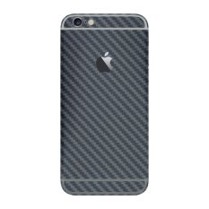 Beli 9Skin Premium Skin Protector Iphone 6 6S 4 7Inc Carbon Fiber Material Made In Japan Grey Cicilan