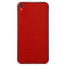 9Skin - Premium Skin Protector for Case Asus ZenFone Live (ZB501KL) - Carbon Texture - Red