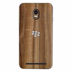 9Skin - Premium Skin Protector untuk Case Blackberry Aurora - Classic Wood Texture - Cokelat