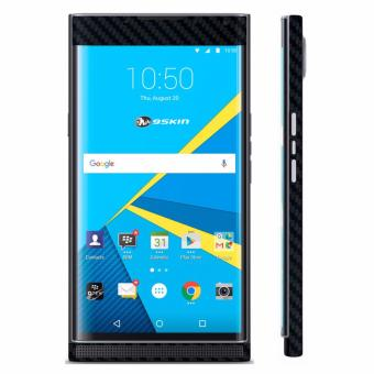 Promo 9Skin - Premium Skin Protector untuk Case BlackBerry PRIV - Carbon Texture - Hitam Murah