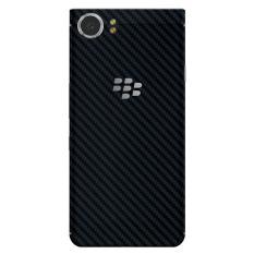9Skin - Premium Skin Protector untuk Case BlackBerry KEYone - Tekstur Carbon - Hitam