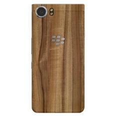 9Skin - Premium Skin Protector untuk Case BlackBerry KEYone - Tekstur Classic Wood - Coklat