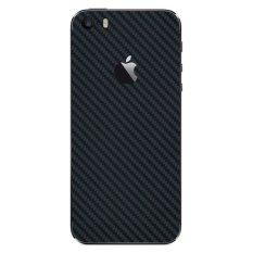 Dimana Beli 9Skin Premium Skin Protector Untuk Case Iphone Se Iphone 5 5S Black Carbon Texture Hitam 9Skin