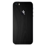 Beli 9Skin Premium Skin Protector Untuk Case Iphone Se Iphone 5 5S Black Wood Texture Hitam Dengan Kartu Kredit