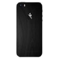 Jual 9Skin Premium Skin Protector Untuk Case Iphone Se Iphone 5 5S Black Wood Texture Hitam 9Skin Murah