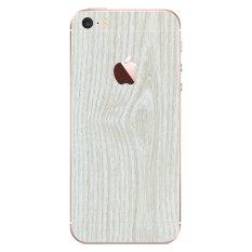 Jual 9Skin Premium Skin Protector Untuk Case Iphone Se Iphone 5 5S White Wood Texture Putih Online Di Dki Jakarta