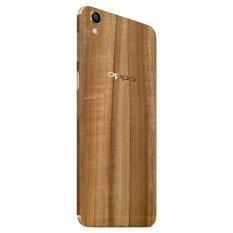 Toko 9Skin Premium Skin Protector Untuk Case Oppo F1 Plus Classic Wood Texture Cokelat Terlengkap