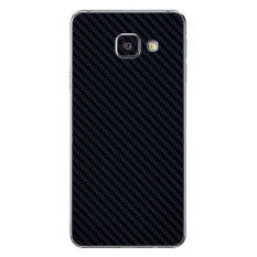 Cuci Gudang 9Skin Premium Skin Protector Untuk Case Samsung A3 6 2016 Carbon Texture Hitam