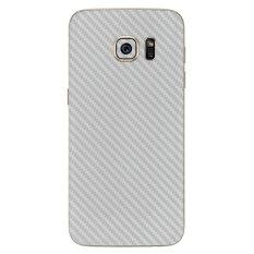 Toko 9Skin Premium Skin Protector Untuk Samsung Galaxy S7 Edge Carbon Texture Putih Terlengkap