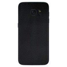 Jual 9Skin Premium Skin Protector Untuk Samsung Galaxy S7 Flat Leather Texture Hitam Online