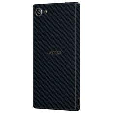 Beli 9Skin Premium Skin Protector Untuk Sony Xperia Z5 Compact Carbon Fiber Texture Hitam 9Skin Murah