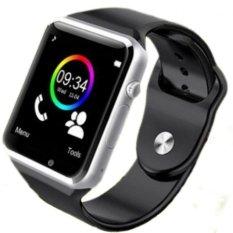 Tips Beli A1 Bluetooth Smart Watch Dengan Sim Ponsel Panggilan Mengambil Selfie Untuk Iphone Dan Android Smartphone Anti Hilang Aktivitas Pelacakan Tidur Pemantauan Hitam