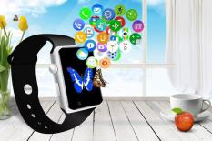 A1 Bluetooth Touch Screen Smart Wrist Watch Waterproof GSM Phone For Android Samsung iPhone - intl