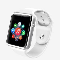 A1 Bluetooth Menyentuh Layar Smart Wrist Watch Tahan Air GSM Ponsel untuk Android Samsung I Phone-Intl