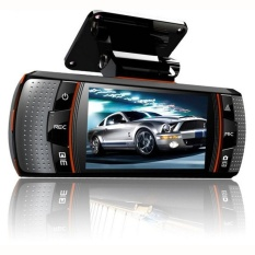 A1 Dual-lens Mengemudi Perekam 2.7 Inch HD 1080 P Depan dan Belakang Dualrecord-Intl