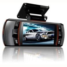 A1 Dual-lens Mengemudi Perekam 2.7 Inch HD 1080 P Depan dan Reardualrecord-Intl