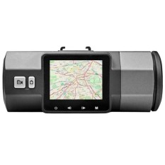 A1 dual-lens driving recorder 2.7 inch HD 1080P front andreardualrecord  - intl