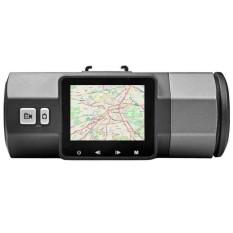 A1 Dual-lens Mengemudi Perekam 2.7 Inch HD 1080 P Frontandreardualrecord-Intl