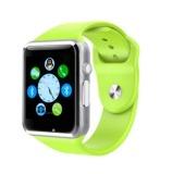 Harga Termurah A1 Gu08 Bluetooth Smart Watch Wrist Watch Phone Dengan Sim Card Slot Dan Smart Kesehatan Watch Untuk Smartphone Hijau Intl