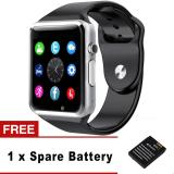 Promo A1 Smart Watch Pria Sport Bluetooth Arloji Pedometer With Sim Kamera Fashion Smartwatch For Android Ios Smartphone Intl Murah