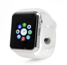 A1 W8 Bluetooth Smart Watch Jam Tangan Sport Pedometer SIM Card untuk Android Smartphone (Putih)-Intl