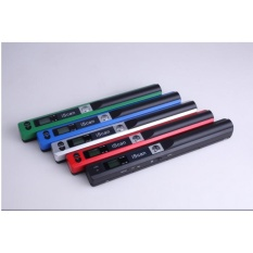 A4 Handheld Mobile Document Portable Scanner 900 DPI Warna Mono JPG atau PDF Format Selection Hitam-Intl