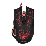 Diskon Besara888 5500 Dpi Profesional Usb Wired Optical 6 Key Gaming Mouse Dengan Warna Warni Lampu A888B Intl
