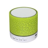 Spesifikasi A9 Portable Wireless Bluetooth Speaker Cr*ck Colorful Lights Green Intl Murah