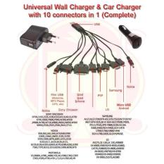 Abadicar Charge Charger Mobil Saver Usb Saver Car Adaptor Charger Mobil Kabel 12 In 1 Indonesia