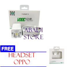 Jual Abadioppo Vooc Fast Charging Original Charger For Oppo Mirro R R7 4A 5V 4A1 Freeheadset Oppo Branded Murah