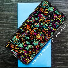 Beli Abstract Doodle O0809 Samsung Galaxy J7 Pro Case Cases Online