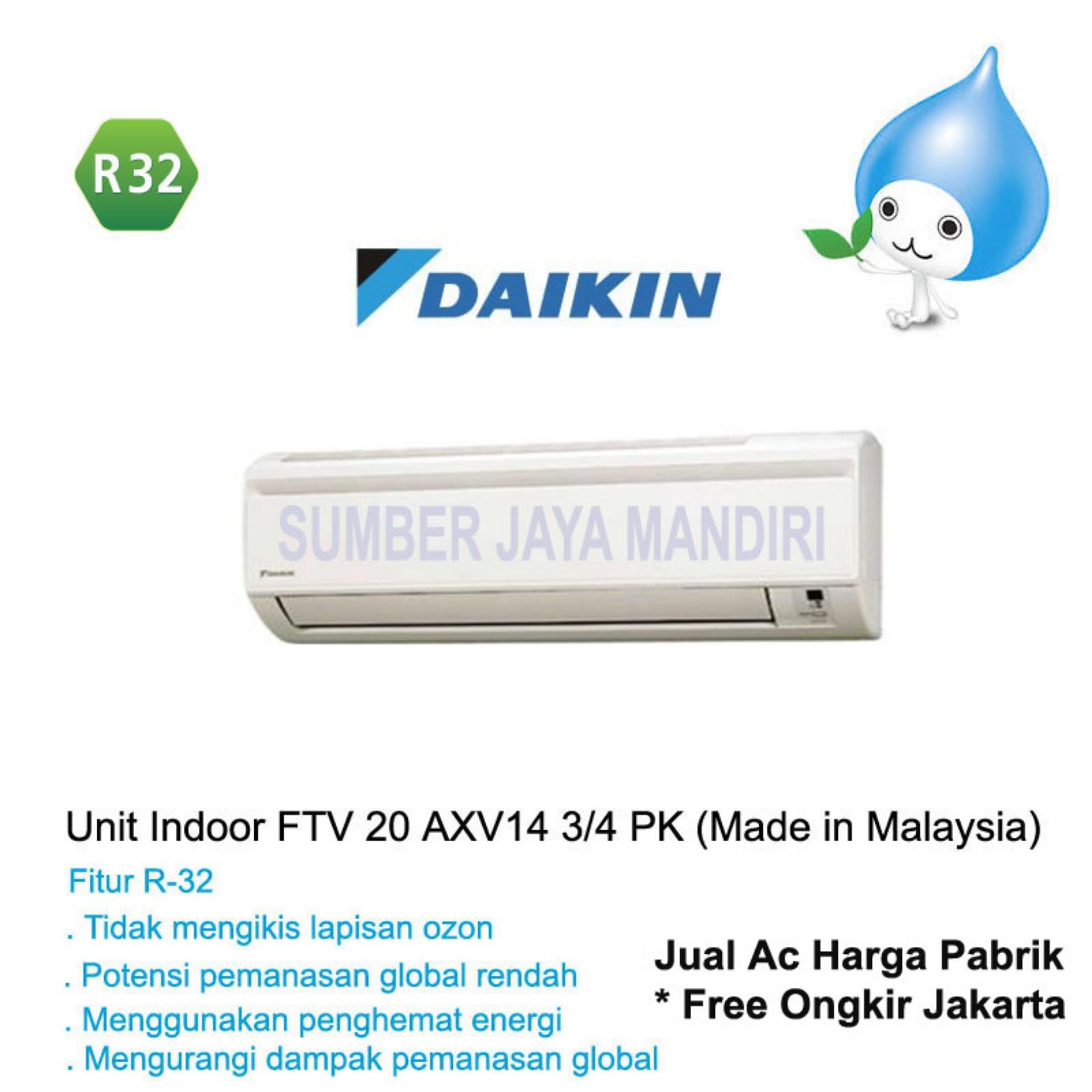 Toko Ac Daikin Split Ftv20Axv14 3 4 Pk Malaysia Putih Daikin Dki Jakarta
