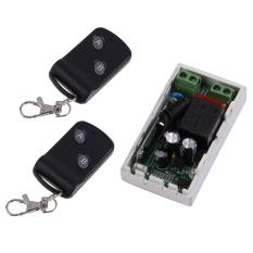 AC220V 1CH 1 Receiver + 2 Remote Controller Rancangan RF Pemancar Nirkabel 315 MHz