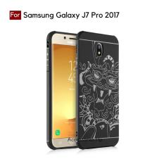 Accessories HP Dragon Shockproof Hybrid Case for Samsung Galaxy J7 Pro 2017 / J730 - Black