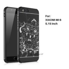 Accessories HP Dragon Shockproof Hybrid Case for Xiaomi Mi 6 / Mi6 5.15 inch - Black