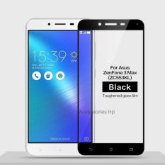 Accessories Hp Full Cover Tempered Glass Warna Screen Protector for Asus Zenfone 3 Max 5.5 Inch ZC553KL - Black