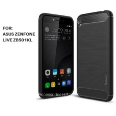 Accessories HP Premium Quality Carbon Shockproof Hybrid Case for ASUS Zenfone Live ZB501KL - Black