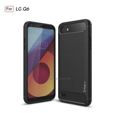Accessories HP Premium Quality Carbon Shockproof Hybrid Case For LG Q6 - Black
