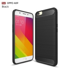 Accessories HP Premium Quality Carbon Shockproof Hybrid Case for OPPO F1s / A59 - Black