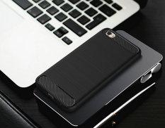 Accessories HP Premium Quality Carbon Shockproof Hybrid Case for VIVO Y55 / Y55s - Black