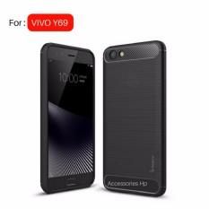 Accessories HP Premium Quality Carbon Shockproof Hybrid Case for VIVO Y69 - Black
