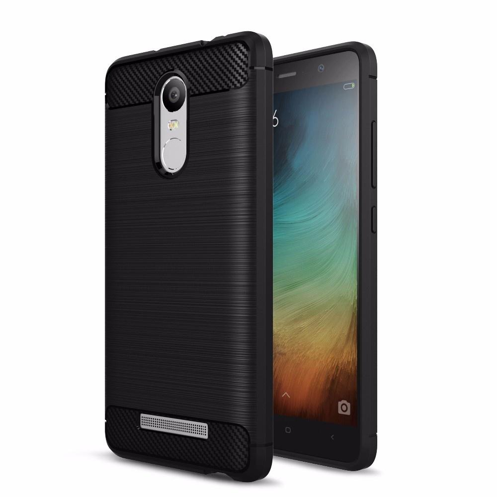 Premium Quality Carbon Shockproof Hybrid Case for Xiaomi Redmi Note 3 / Note 3 Pro 5.5 Inch Versi Kenzo - Black